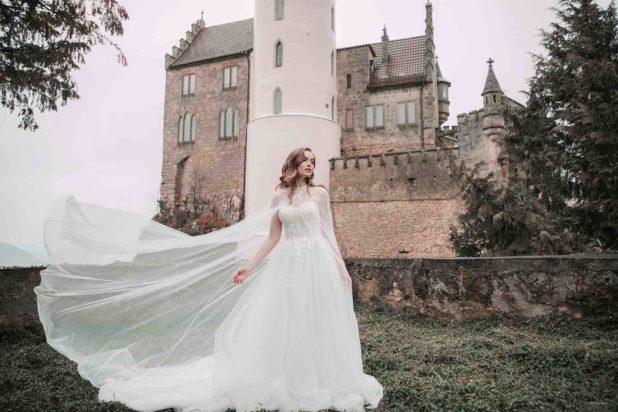 vestidos de novia disney