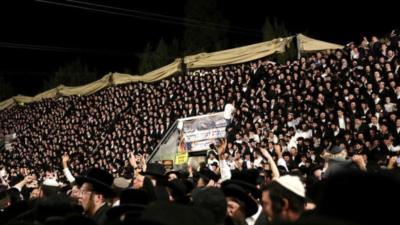 Estampida judios ultraortodoxos
