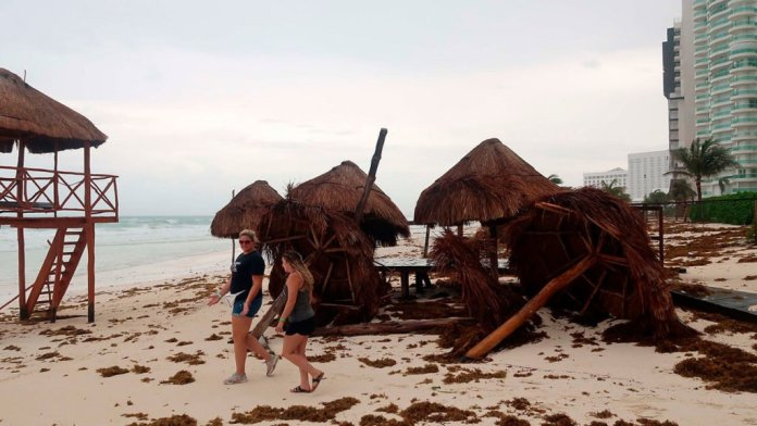 Hurricane Grace Quintana Roo