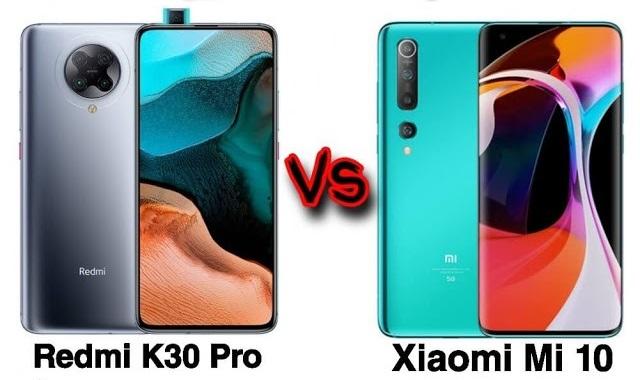 OnePlus 8 vs Xiaomi Mi 10 vs Redmi K30 Pro: So sánh thông số kỹ thuật