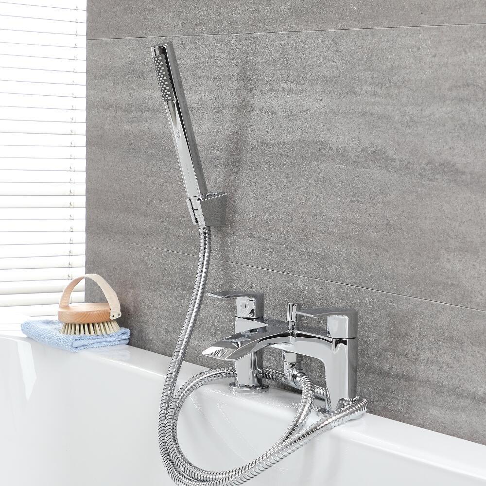 robinet baignoire avec douchette razor