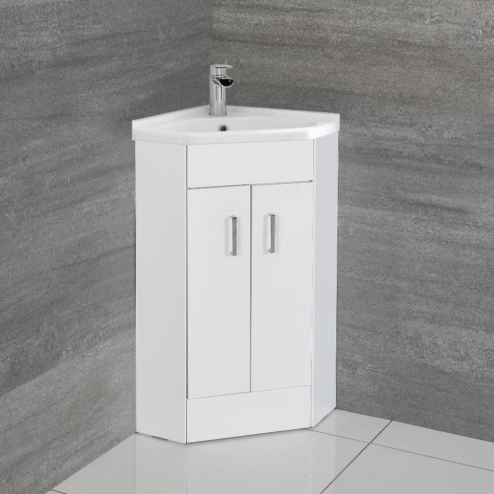 meuble lavabo d angle cluo