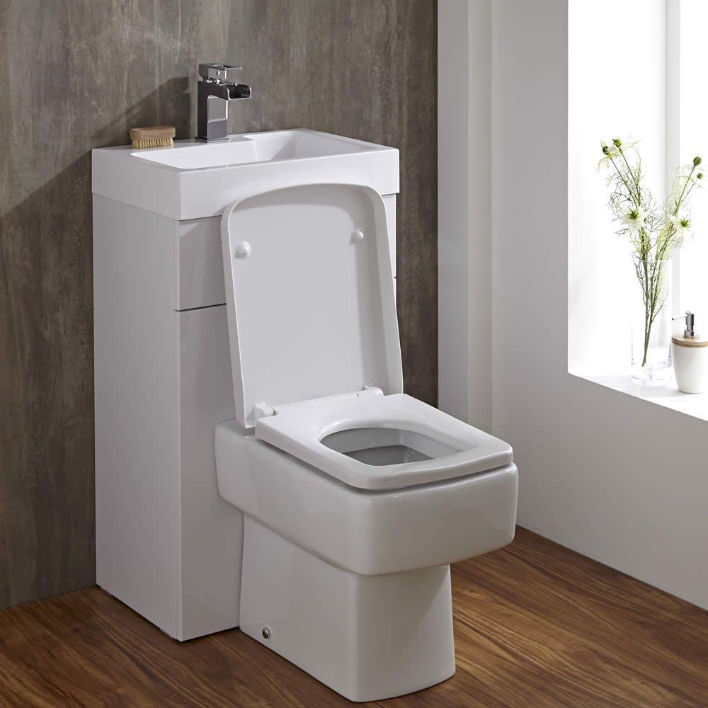 Lave Main WC Cubique Blanc