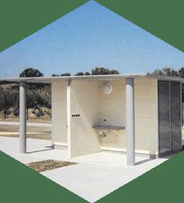 sanitaires prefabriques pour aires d