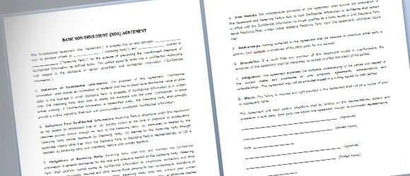 You may also see it listed as a california confidentiality agreement. Simple Nda Template For Microsoft Word