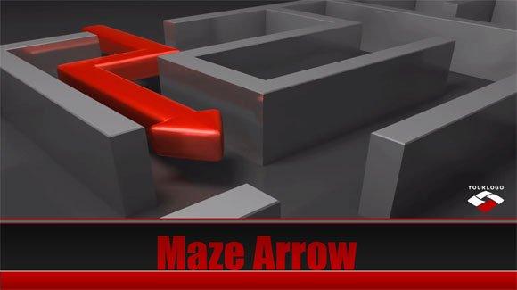 Maze Powerpoint Templates