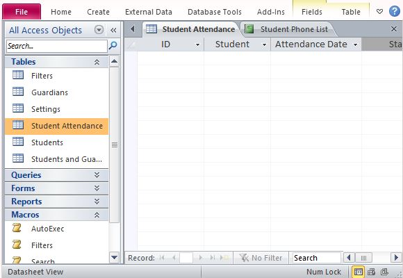 Free demo to try out! Desktop Student Database Template For Access