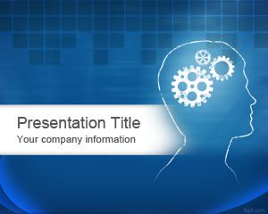 Free PowerPoint Templates Brain PowerPoint Template