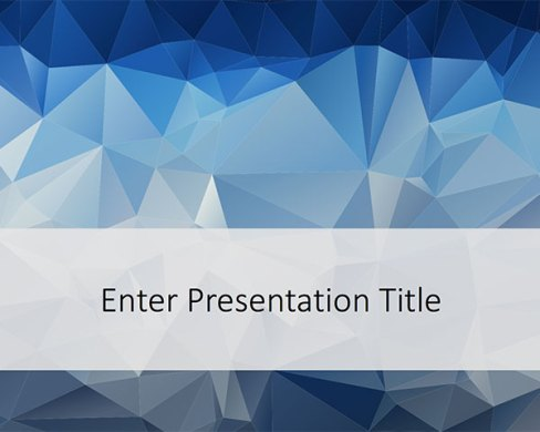 160 Free Abstract PowerPoint Templates and Powerpoint Slide Designs Free Low Poly PowerPoint Template