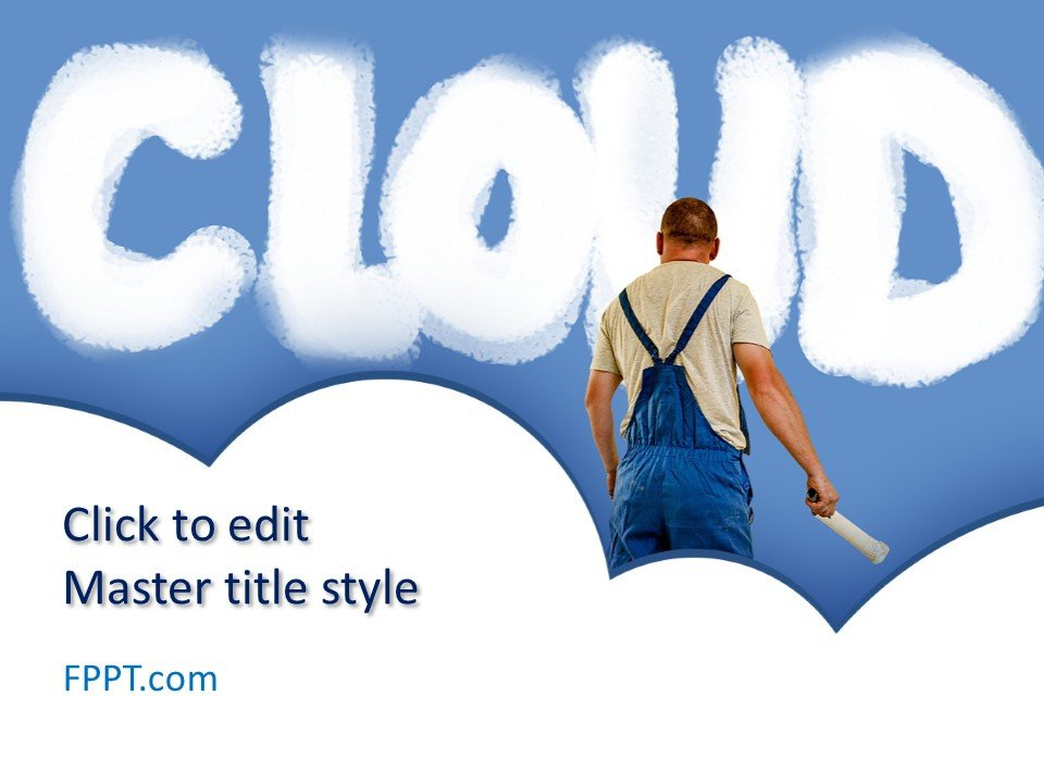 )(n.) (1) something that establishes or serves as a pattern for reference. Free Cloud Powerpoint Template Free Powerpoint Templates