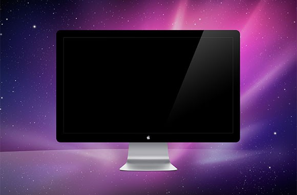 Apple Monitor Psd Mockup Freebiesbug
