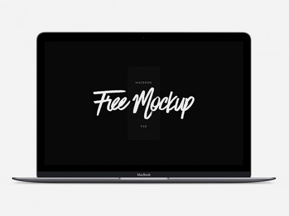 Macbook Psd Mockup Freebiesbug