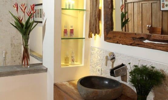 Rustikale Badezimmer Fotos Wohndesign