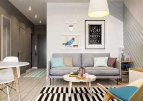 Kleine Wohnung modern und funktionell einrichten ...