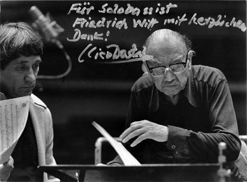 Friedrich Witt und Nico Dostal