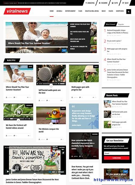 Viral-Notícias-Buzz-WordPress-Tema