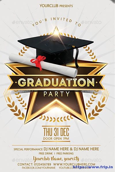 Design Own Graduation Invitation