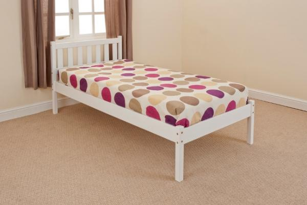 Single Double Pine Or White Bed Mattress Option Free Uk Delivery Scandinavia