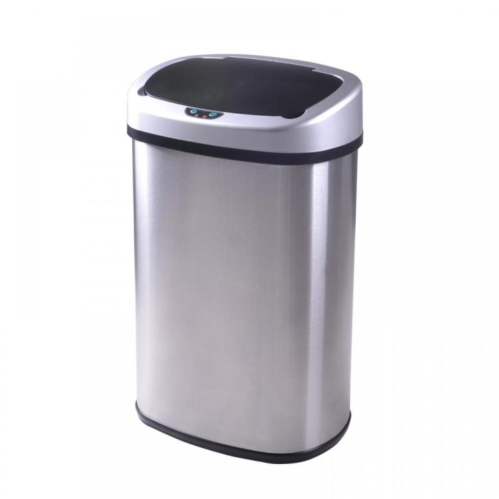 Sensor Automatic Stainless Steel Trash Can Kitchen 50r