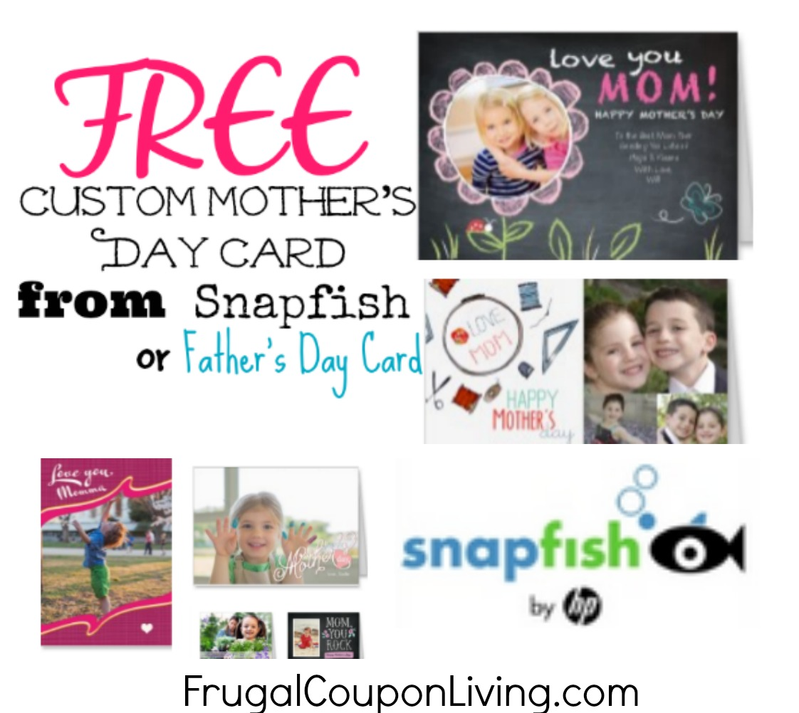 FREE Mothers Day Greeting Card From Snapfish More