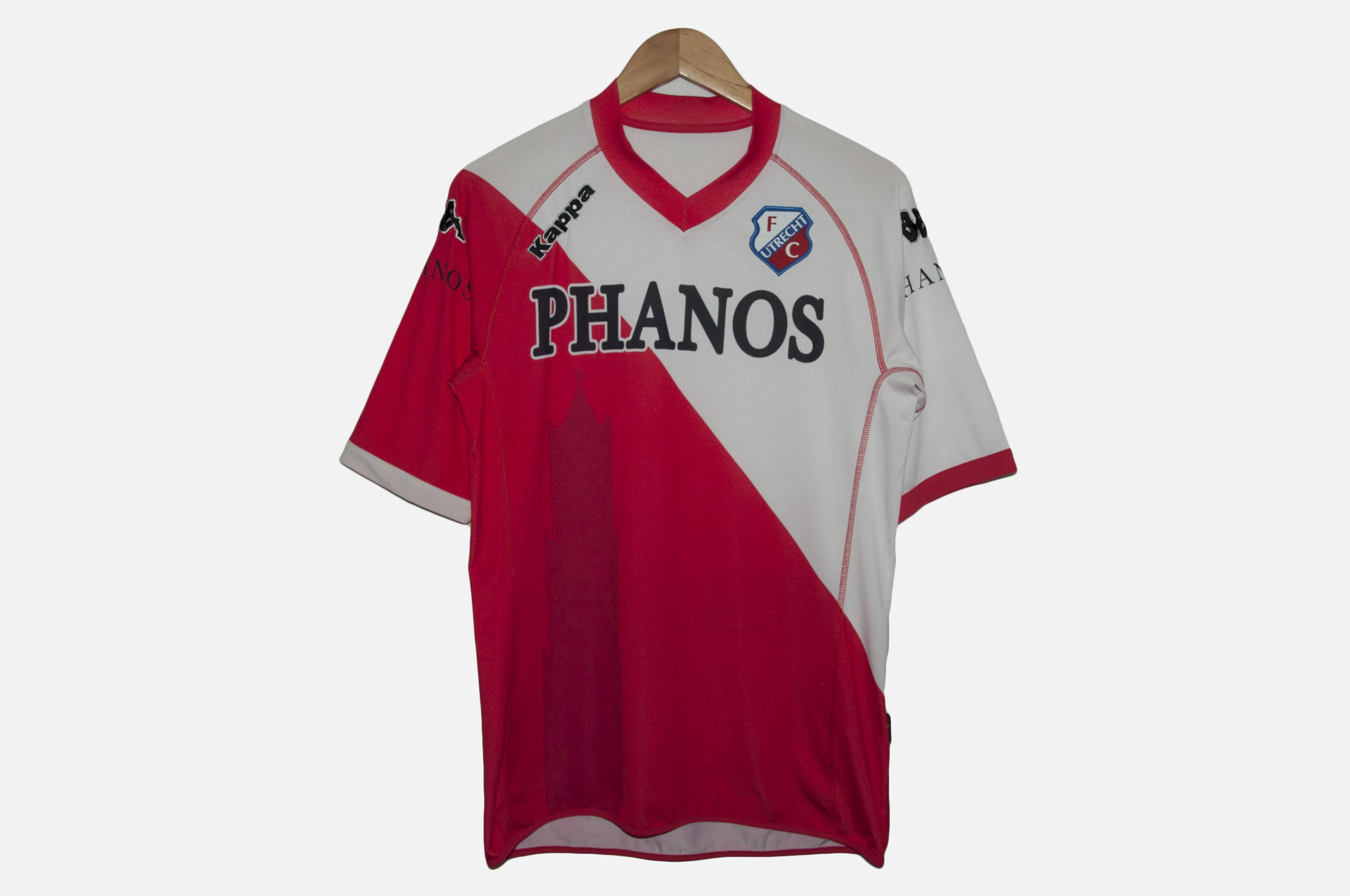 fc utrecht home football shirt 2009 10 jersey kappa size l