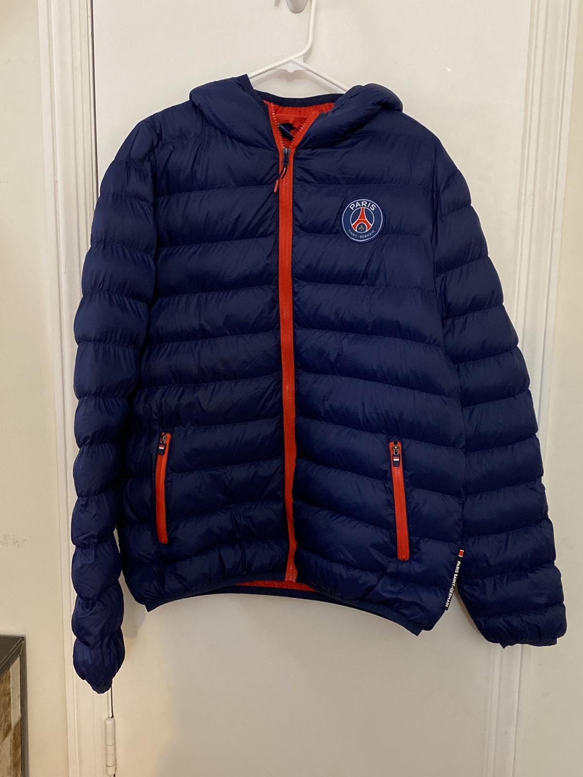paris saint germain psg puffer jacket