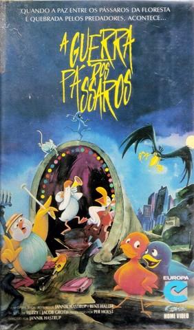 Poster do filme A Guerra dos Pássaros