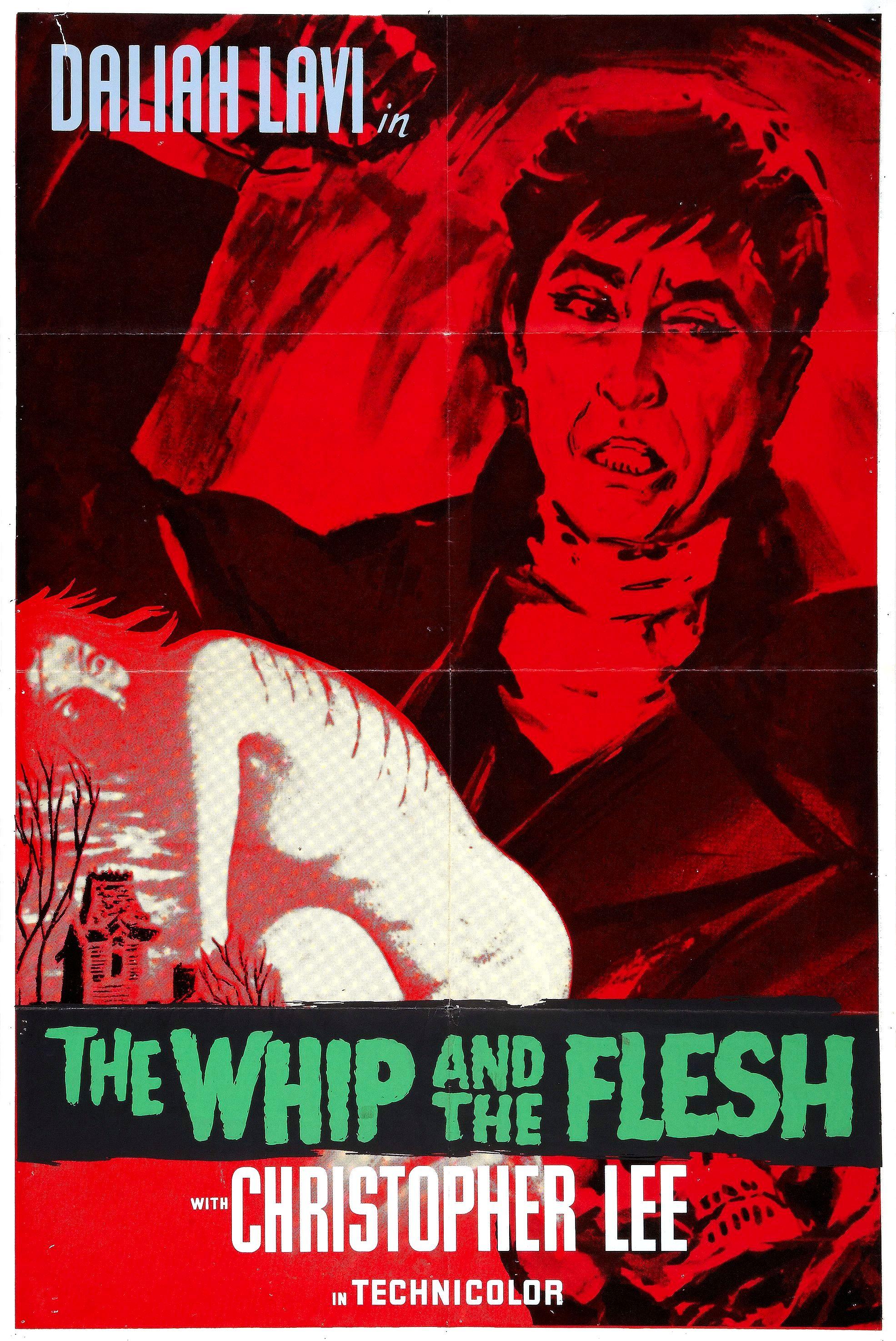 Poster do filme O Chicote e o Corpo