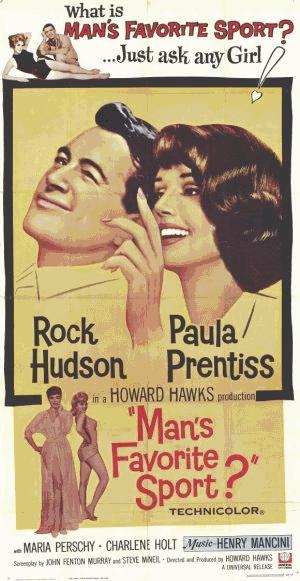 Poster do filme O Esporte Favorito dos Homens