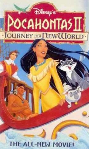 Poster do filme Pocahontas 2 - uma jornada para o novo mundo