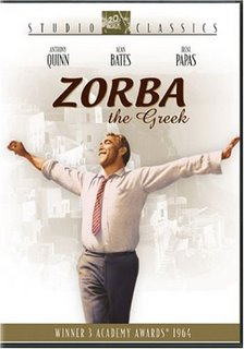Poster do filme Zorba, o Grego