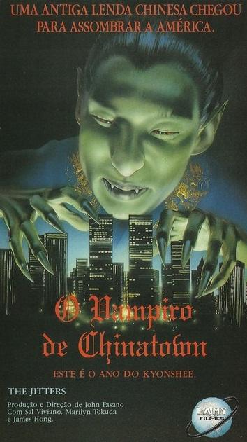 Poster do filme O Vampiro de Chinatown