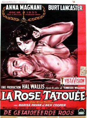 Poster do filme A Rosa Tatuada