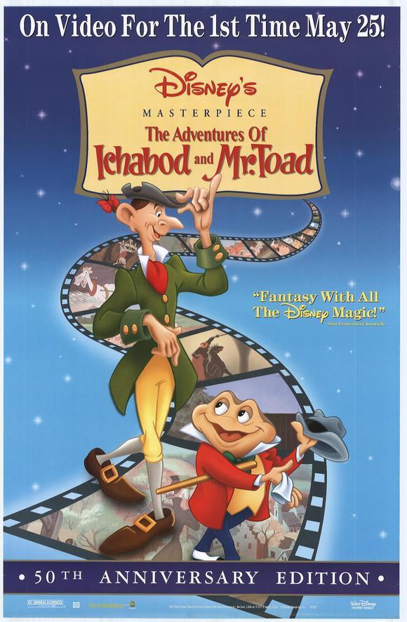 Poster do filme As aventuras de Ichabod e do Sr. Sapo