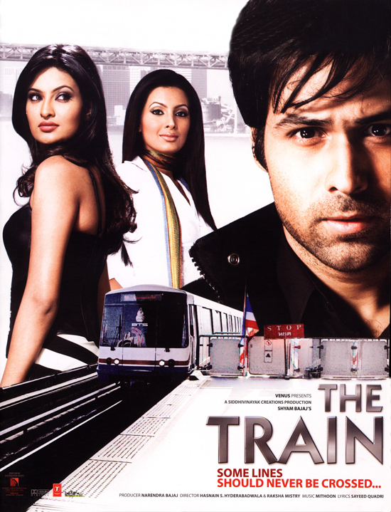 Poster do filme The Train: Some Lines Shoulder Never Be Crossed...