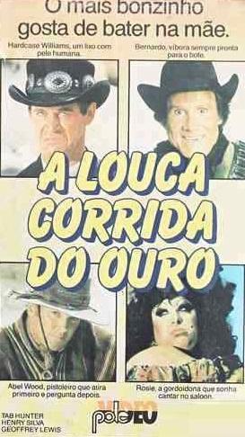 Poster do filme A Louca Corrida do Ouro