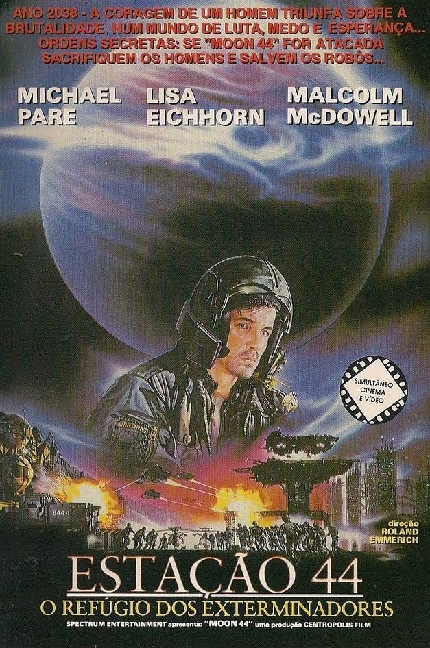 Poster do filme Estação 44 - O Refúgio dos Exterminadores
