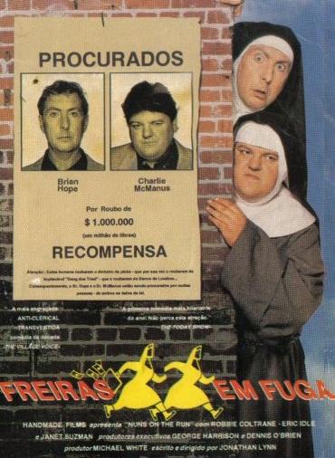Poster do filme Freiras em Fuga