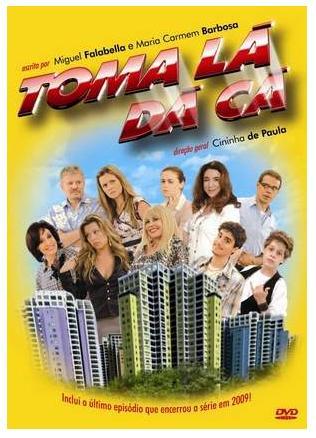 Poster do filme Toma Lá, Dá Cá