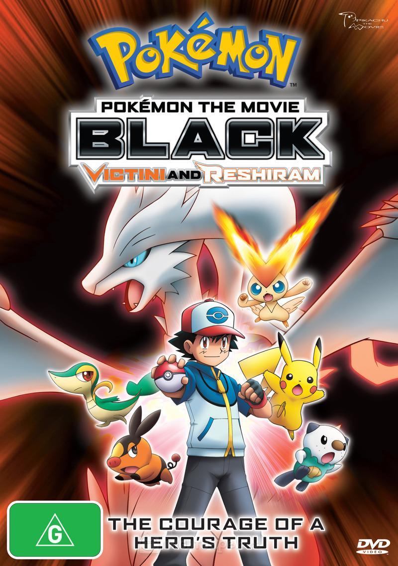 Poster do filme Pokémon o Filme: Preto - Victini e Reshiram