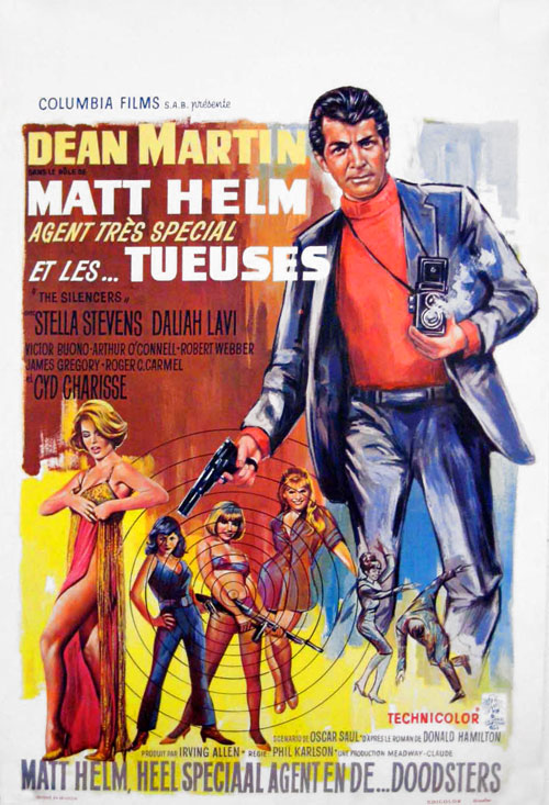 Poster do filme O Agente Secreto Matt Helm