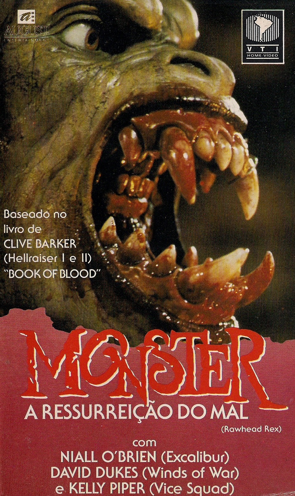 Poster do filme Monster - A Ressurreição do Mal