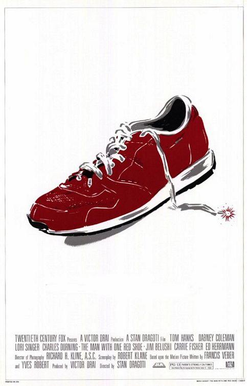 Poster do filme O Homem do Sapato Vermelho