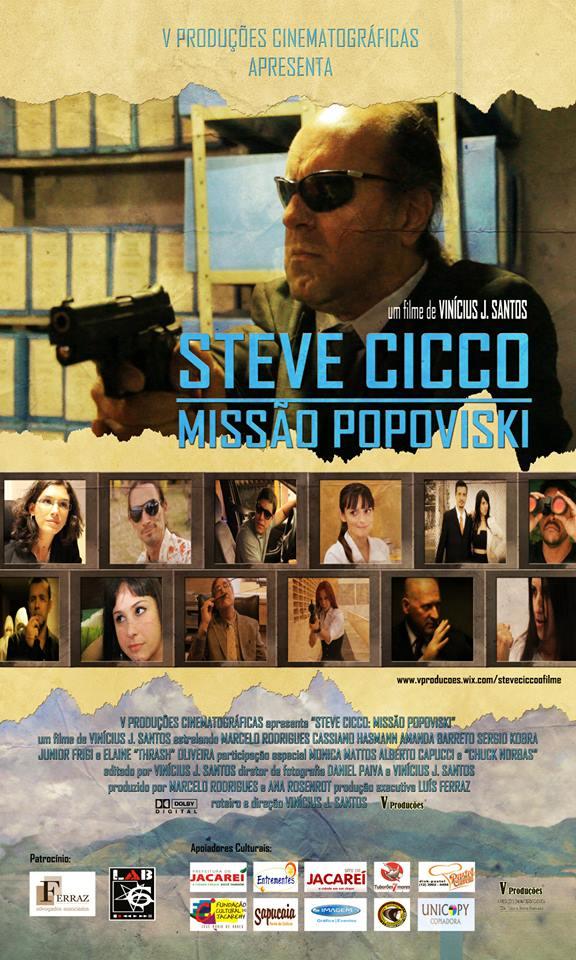 Poster do filme Steve Cicco: A Última Porrada