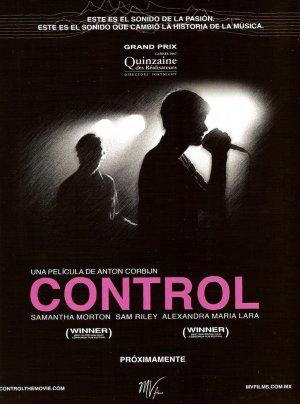 Poster do filme Controle: A História de Ian Curtis