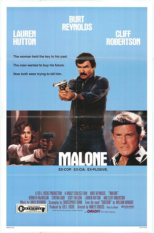Poster do filme Malone - O Justiceiro