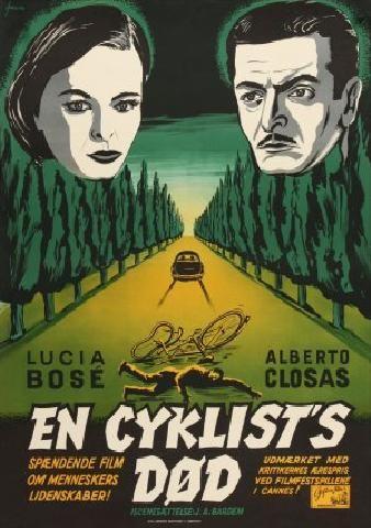 Poster do filme A Morte de um Ciclista