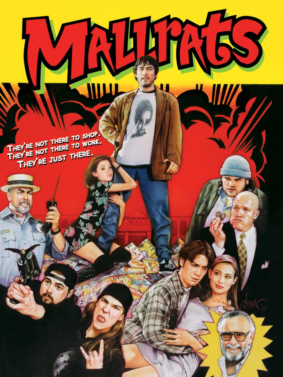 Poster do filme Barrados no shopping