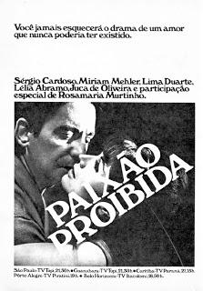 Poster do filme Paixão Proibida