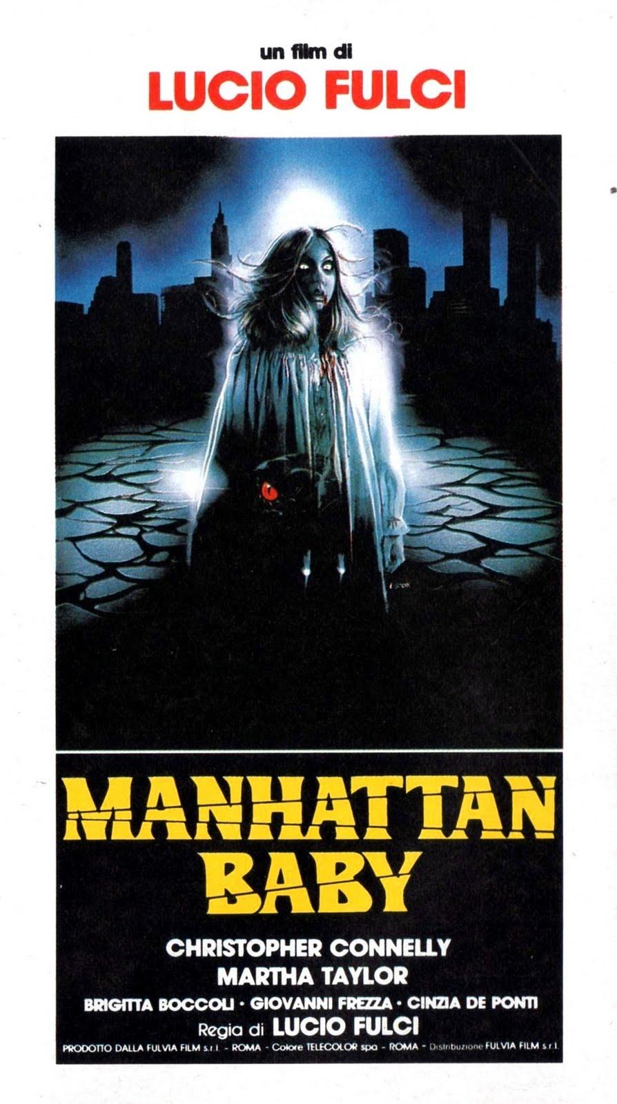Poster do filme O Bebê de Manhattan
